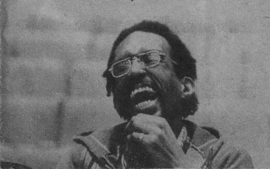Julius Eastman laughing